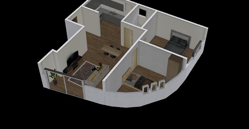 Casa Pedro R/C Apart1 Interior Design Render
