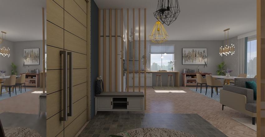 Cinema123 Interior Design Render