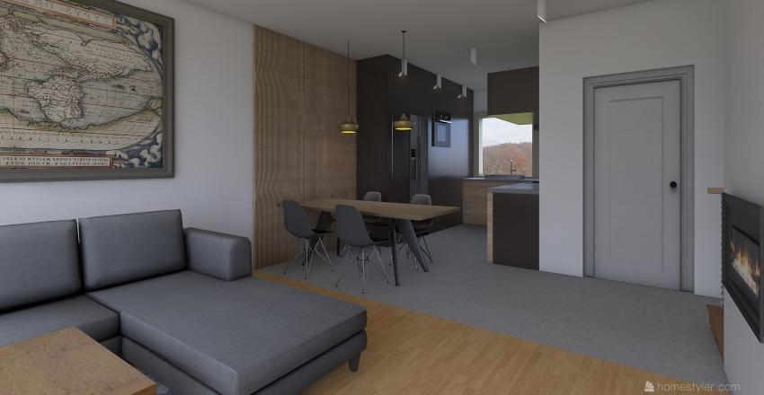 ZD2 - meblościanka Interior Design Render