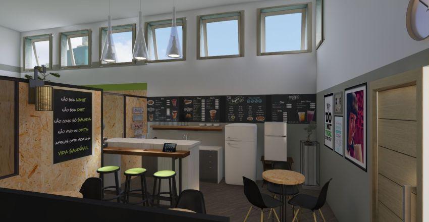PROTEIN BAR 3 Interior Design Render