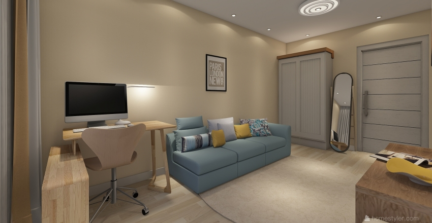 Іващенка 2 Interior Design Render