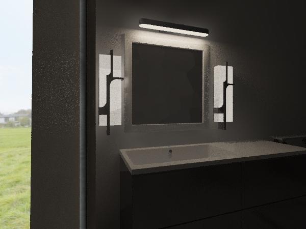mony bath Interior Design Render