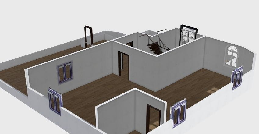 Terrace 03 Interior Design Render