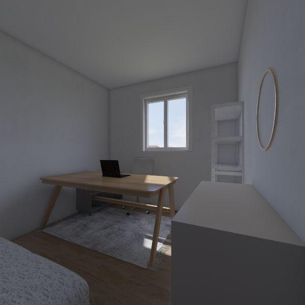 quarto studio Interior Design Render