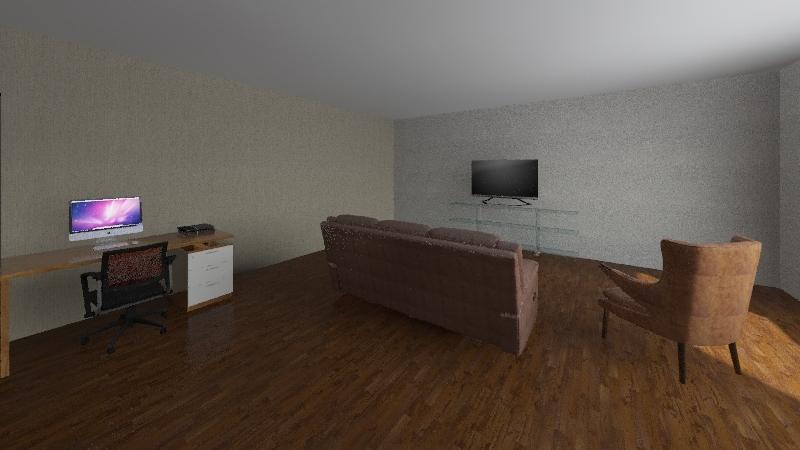Travis's House Interior Design Render