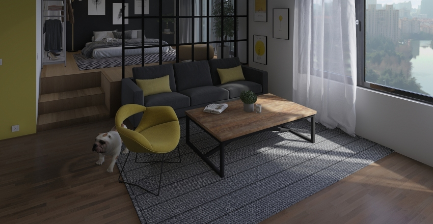 Appartment Interior Design Render