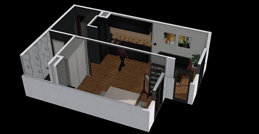 Chałupa Interior Design Render