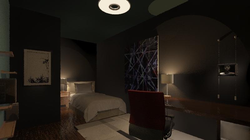 Quang's House Interior Design Render