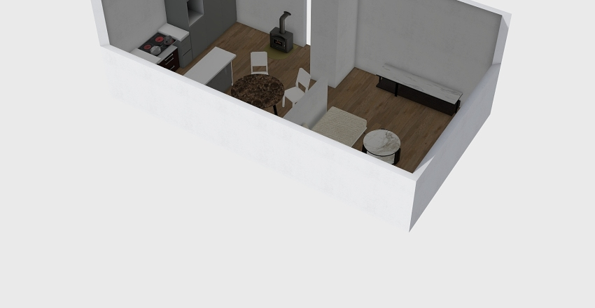 kuhinja 2 Interior Design Render