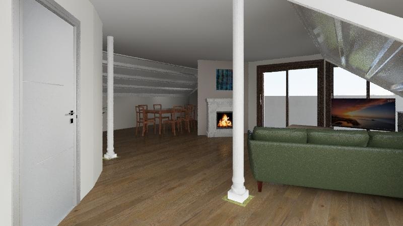 Appart Othmarschen2 Interior Design Render