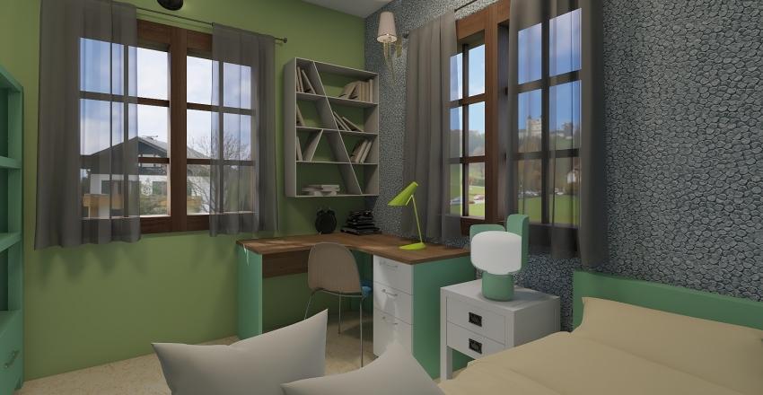 raji child room Interior Design Render