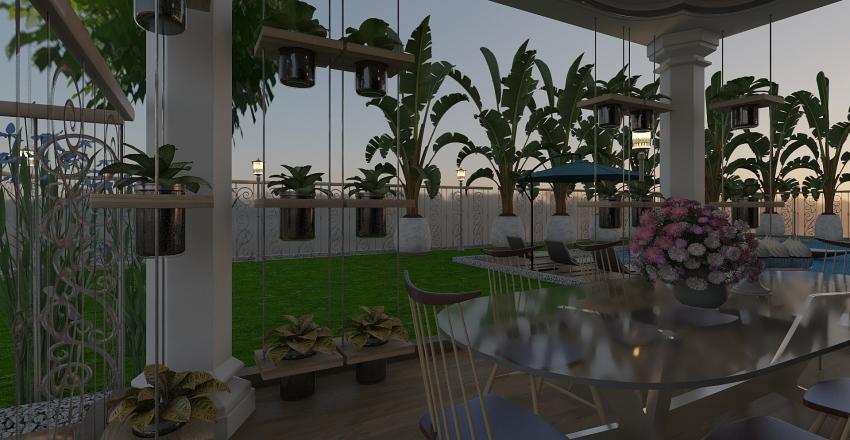 Outdoors Interior Design Render