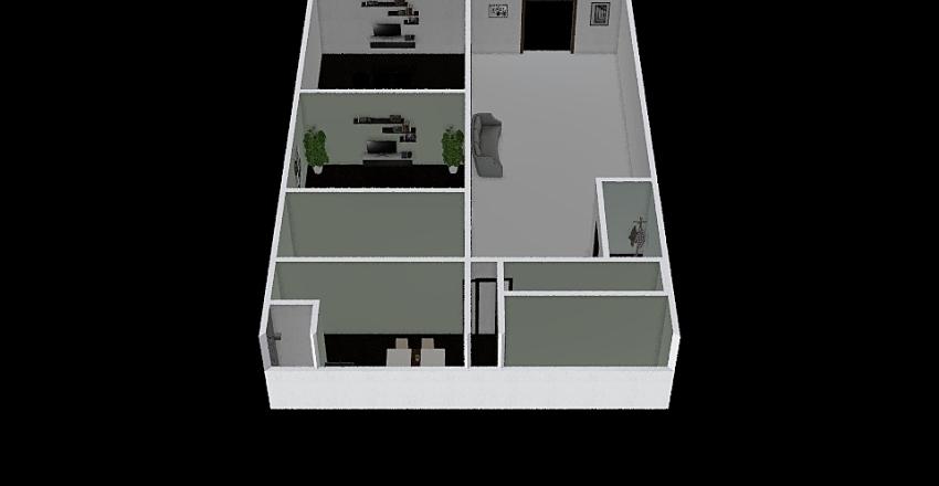 The Blues Studio Interior Design Render