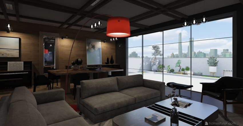 кв Восток Interior Design Render