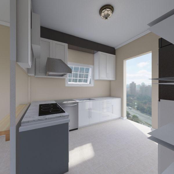 Current Kitchen Interior Design Render
