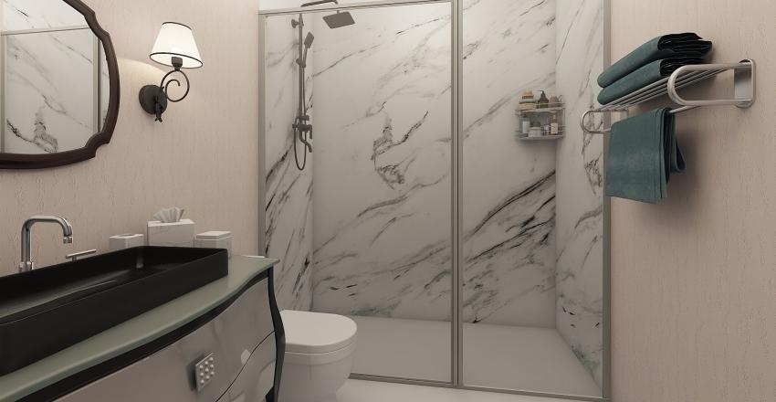Banheiro Suíte Interior Design Render