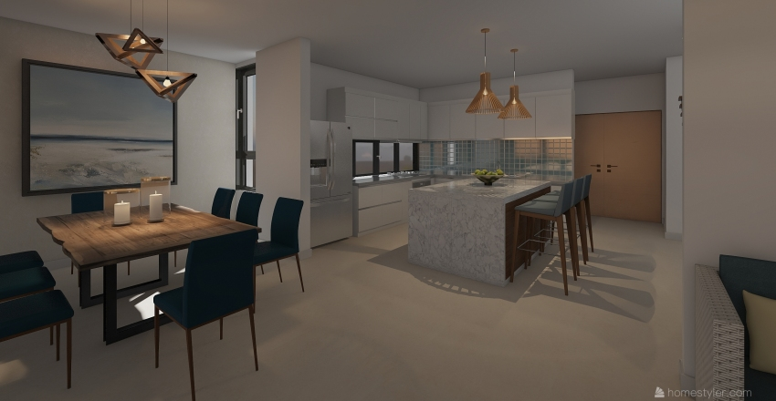BARCAS Interior Design Render
