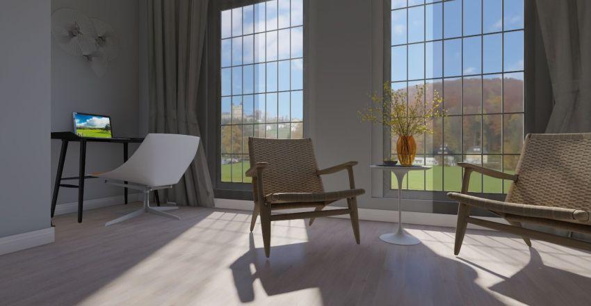 Квартира для семейной пары с подростком№1 Interior Design Render