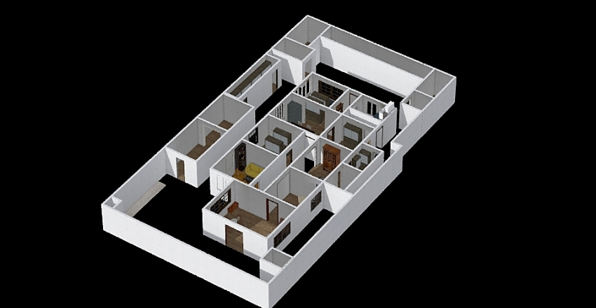 AH Nasution Interior Design Render