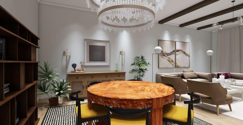Гостинная мебель Interior Design Render