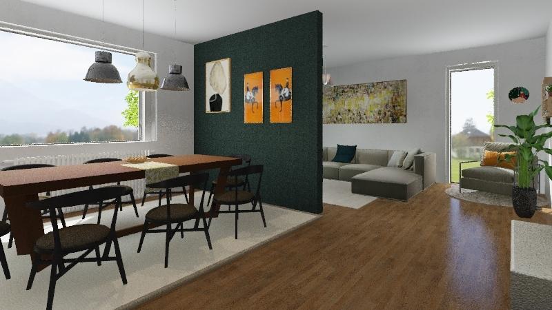 NAŠA HIŠA2 okno 2 Interior Design Render