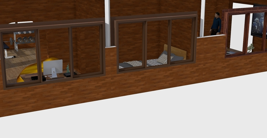The club house Interior Design Render