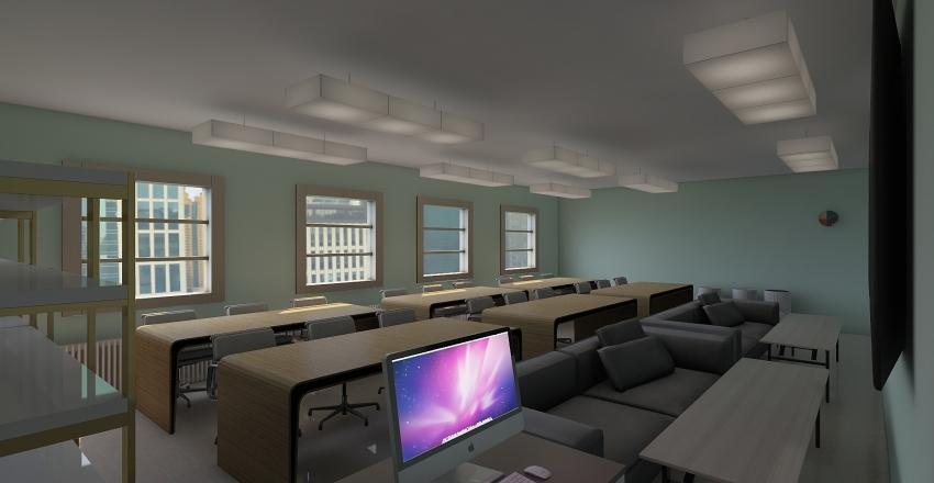 School Redesign Interior Design Render