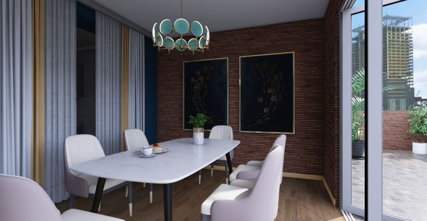 кв Океан Interior Design Render