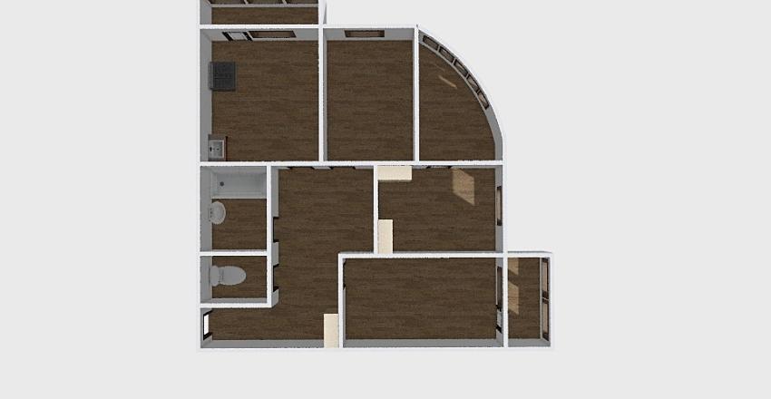 3-комн_0233 Interior Design Render