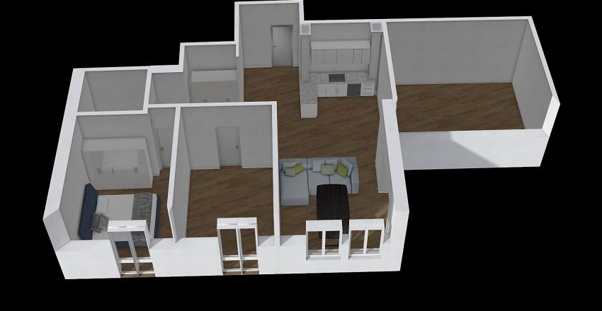 Viale PioVII 2.0 Interior Design Render