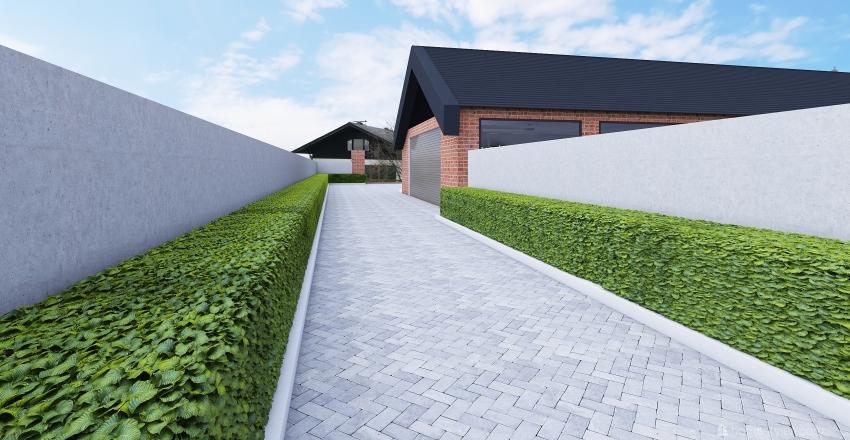 Modern Home Interior Design Render