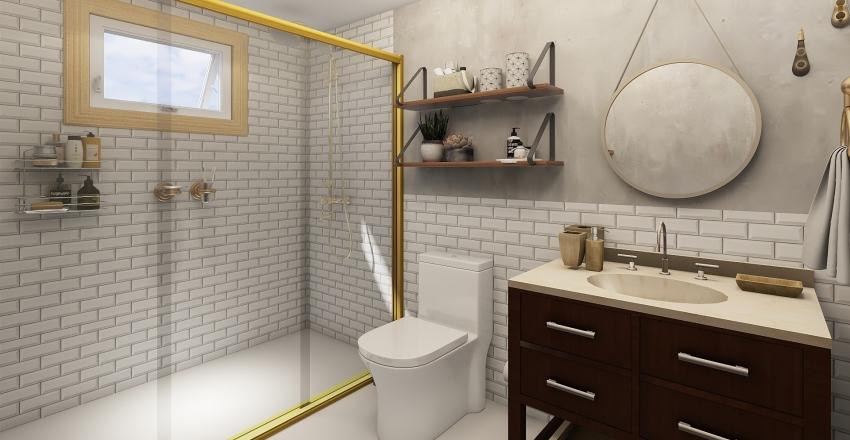 banheiro apt novo Interior Design Render