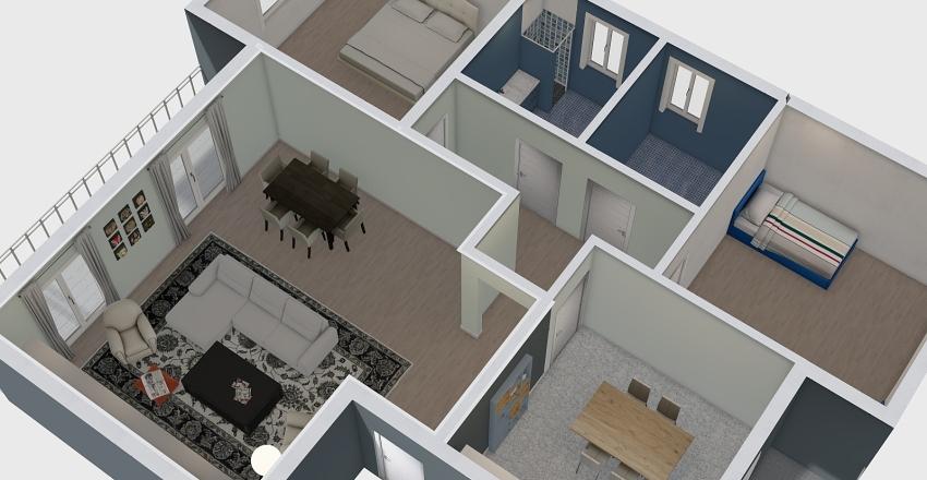 SARAGAT Interior Design Render
