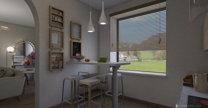 кв 1 Interior Design Render