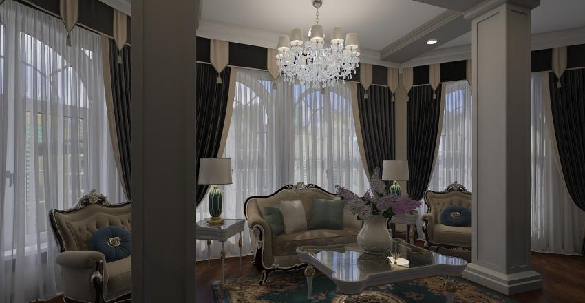 учебный проект на чистовую Interior Design Render