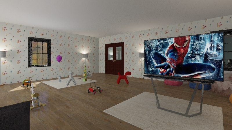 mcdonald house Interior Design Render