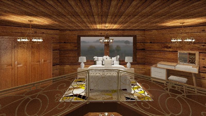 CHALÉ DAS MONTANHAS Interior Design Render