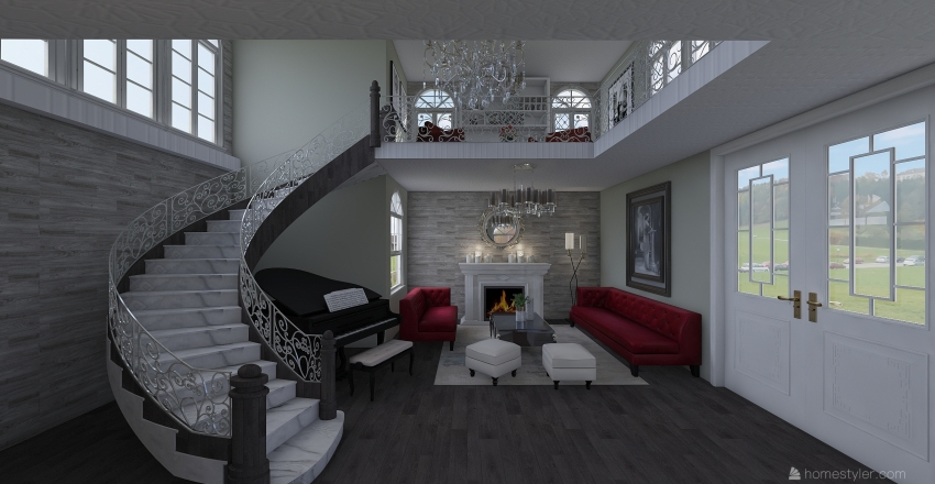 LuxuryHouse Interior Design Render