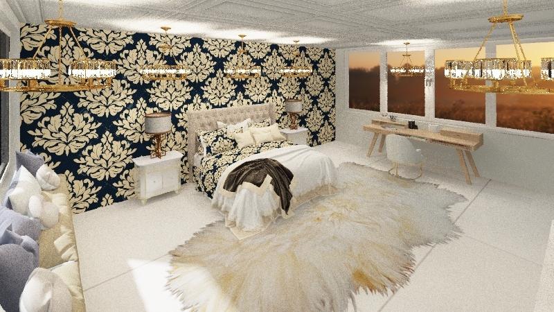 QUARTO ZEN Interior Design Render