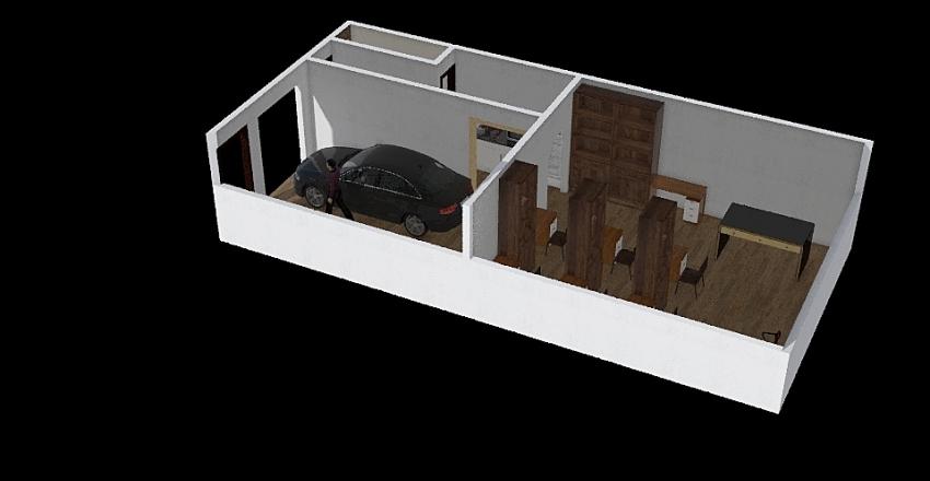casa modista Interior Design Render
