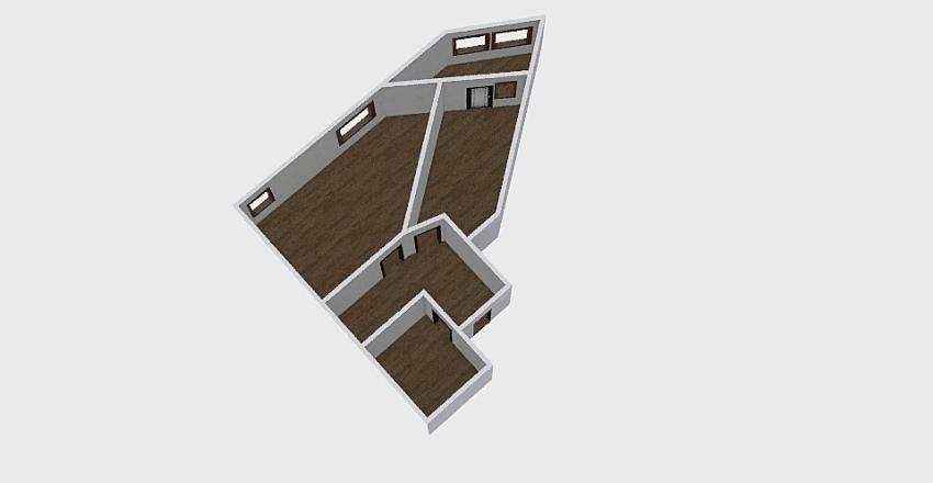 1-комн_0362 Interior Design Render