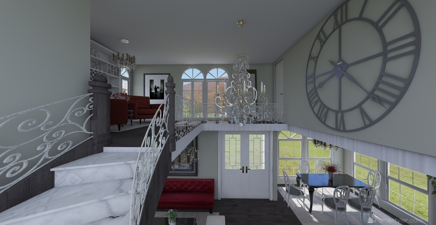 LuxuryHouse Interior Design Render