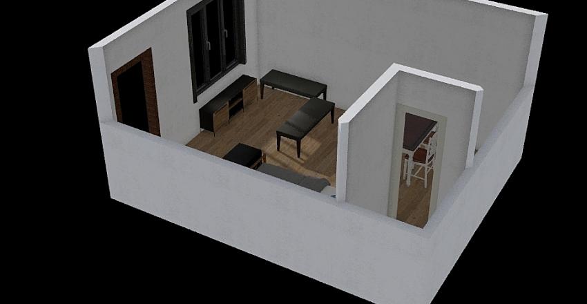 For Rent 2 Interior Design Render