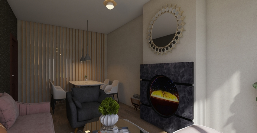 ghalia Interior Design Render