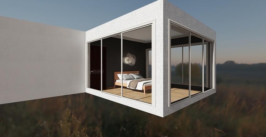 Northern light cottege Interior Design Render