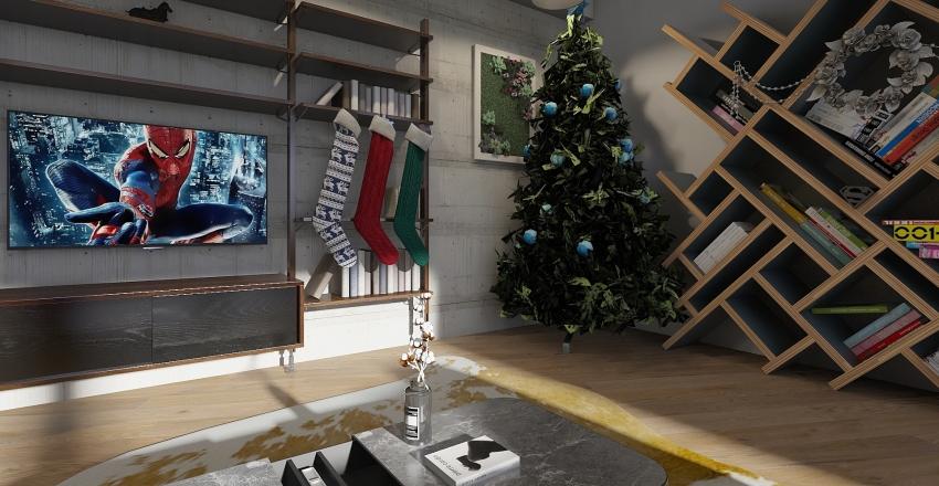 christmas livingroom 2019 Interior Design Render
