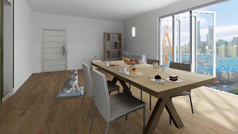Zoe Pretto Interior Design Render