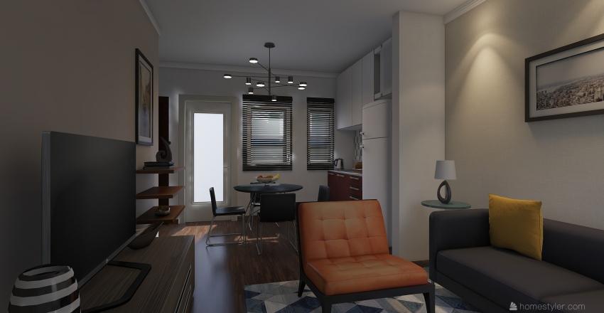 CASA LOUNGE Interior Design Render