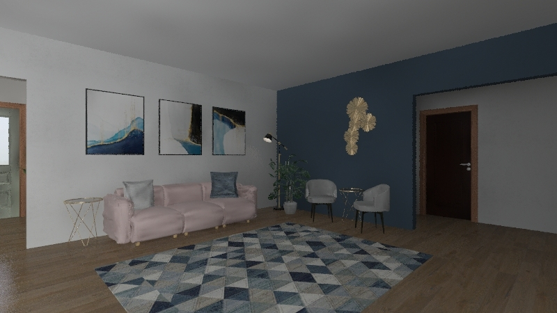 Lilys floor plan Interior Design Render