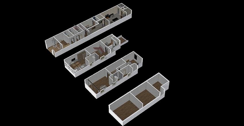 成功路7巷11號1-4F設計圖20191208 Interior Design Render